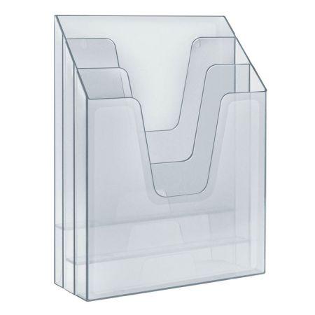 Organizador vertical - cristal - 864.1 - Acrimet