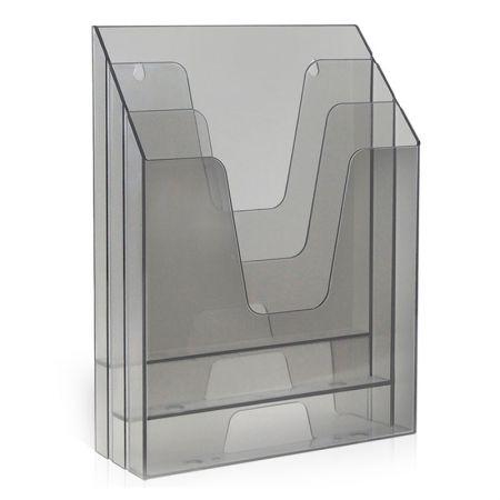 Organizador vertical - fumê - 864.0 - Acrimet