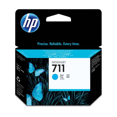 Cartucho HP Original (711) CZ130A - ciano