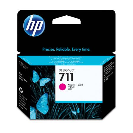 Cartucho HP Original (711) CZ131A - magenta