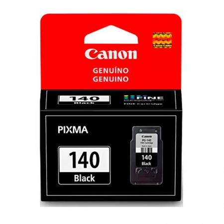 Cartucho Canon PG140 - preto 8ml - serie Pixma MG2110/3110/4110