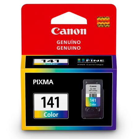 Cartucho Canon CL141C - cores 8ml - serie Pixma MG 2110/3110/4110