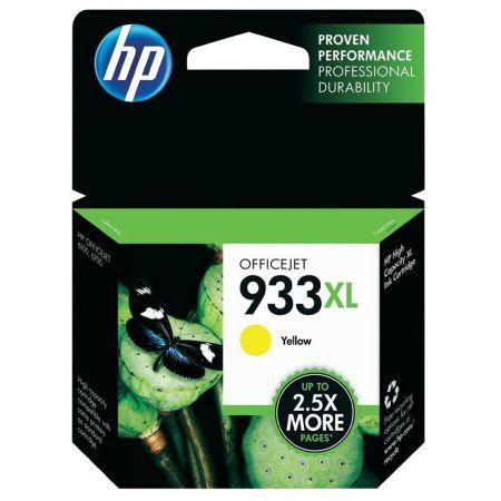 Cartucho HP Original (933XL) CN056AL - amarelo rendimento 825 páginas