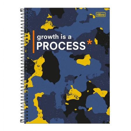 Caderno espiral capa dura universitário 10x1 - 160 folhas - Hide - Capa 2 - Tilibra