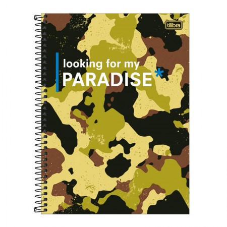 Caderno espiral capa dura universitário 10x1 - 160 folhas - Hide - Capa 3 - Tilibra