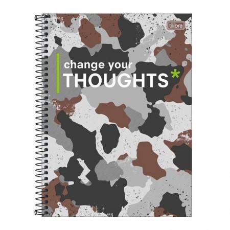 Caderno espiral capa dura universitário 10x1 - 160 folhas - Hide - Capa 4 - Tilibra