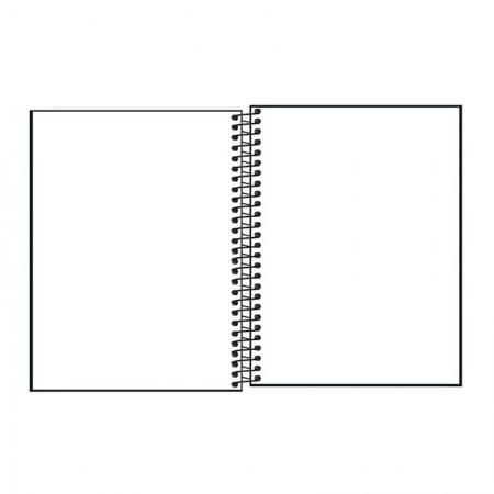 Caderno colegial capa plástica sem pauta Cambridge Definit 116271 - 80 folhas - Tilibra