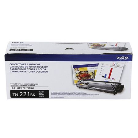 Toner Brother TN221BK - preto 2500 páginas