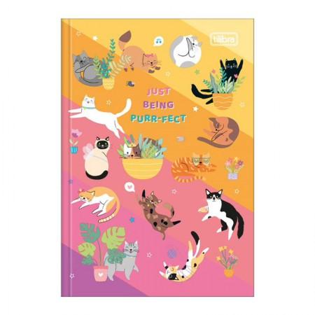 Caderno brochura capa dura 1/4 - 80 folhas - Hug Me - Capa 3 - Tilibra
