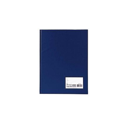 Pasta catálogo - 1028AZ - Azul - com 10 envelopes plásticos - Dac