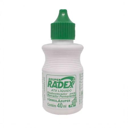 Tinta para pincel atômico 40ml - Verde - Radex