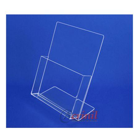 Porta folheto de mesa vertical 90025 - Acrinil