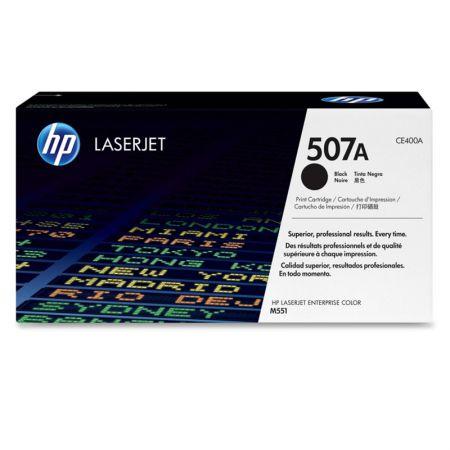 Toner HP Original (507A) CE400A - preto 5500 páginas