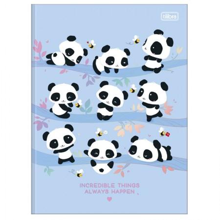 Caderno brochurão capa dura universitário 1x1 - 80 folhas - Lovely Friend - Capa 1 - Tilibra