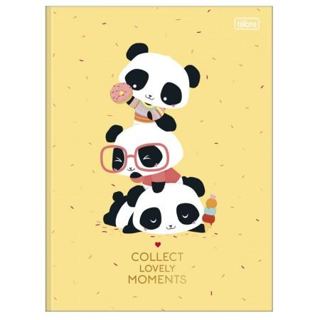 Caderno brochurão capa dura universitário 1x1 - 80 folhas - Lovely Friend - Capa 2 - Tilibra