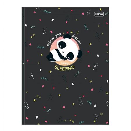 Caderno brochurão capa dura universitário 1x1 - 80 folhas - Lovely Friend - Capa 3 - Tilibra