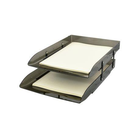 Caixa correspondência dupla articulável - Fumê - 3043.I - Dello