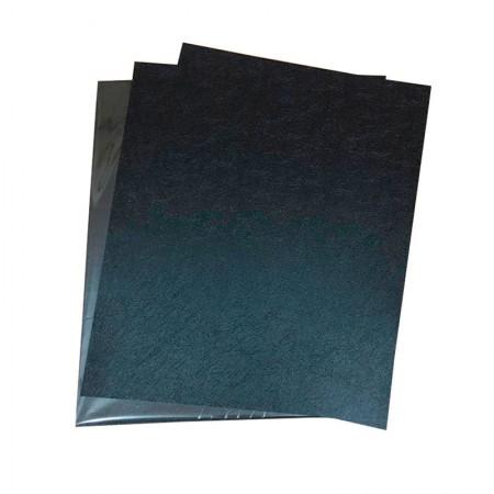 Capa para encadernação Carta preto - pacote com 100 unidades - Mares