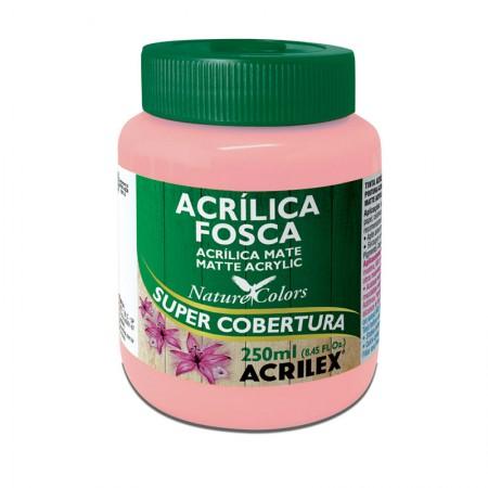 Tinta acrílica fosca Rosa 250ml - 537 - Acrilex