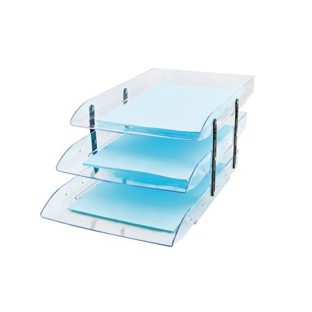 Caixa correspondência tripla articulável - Cristal - 3044.H - Dello