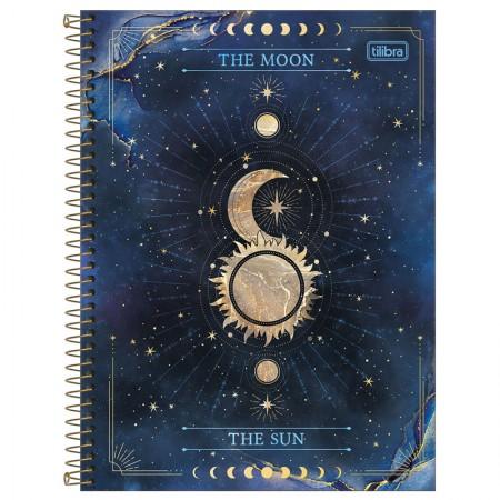 Caderno espiral capa dura universitário 1x1 - 80 folhas - Magic - Capa 4 - Tilibra