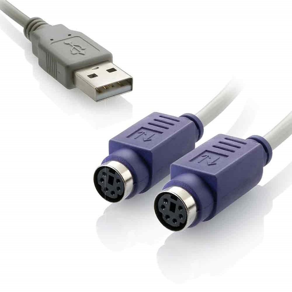 CABO CONVERSOR - USB AMXPS2F - WI046