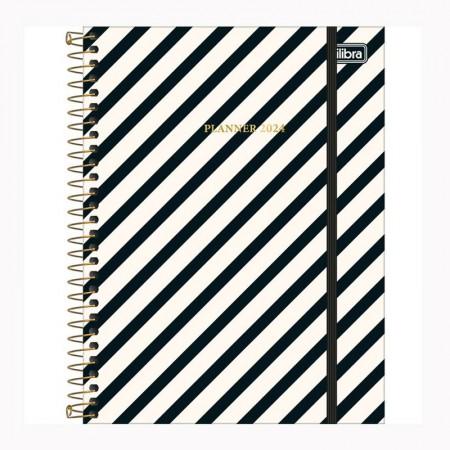 Agenda planner espiral West Village Semanal 2021 - M7 - Xadrez - Tilibra