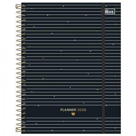 Agenda planner espiral West Village Semanal 2021 - M7 - Coração - Tilibra