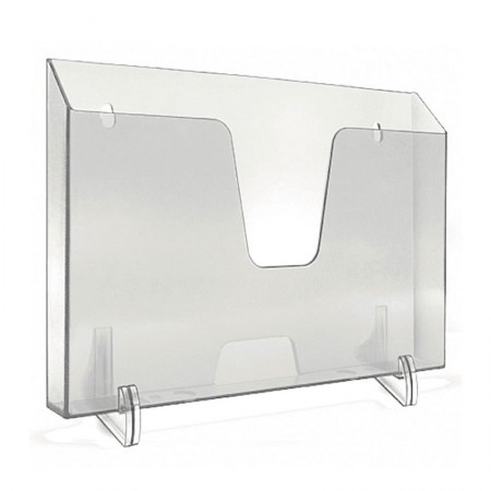 Expositor escritorio horizontal - cristal - 862.1 - Acrimet
