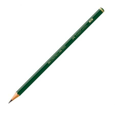 Lápis preto 2H - 9000 - unidade - Faber-Castel