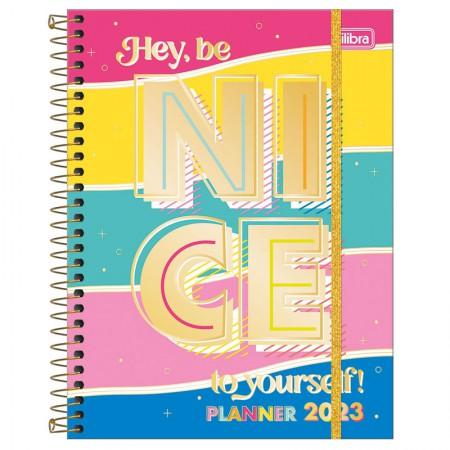 Agenda planner espiral semanal Be Nice 2021 - Capa 1 - Tilibra