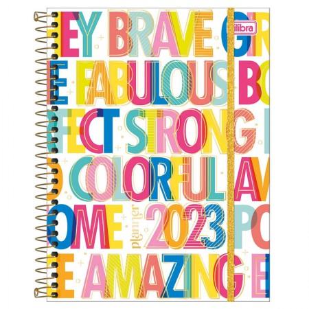Agenda planner espiral semanal Be Nice 2022 - Capa 3 - Tilibra