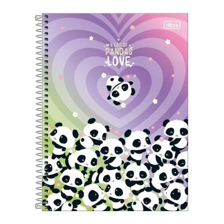 Caderno espiral capa dura universitário 10x1 - 160 folhas - Lovely Friend - Capa 1 - Tilibra