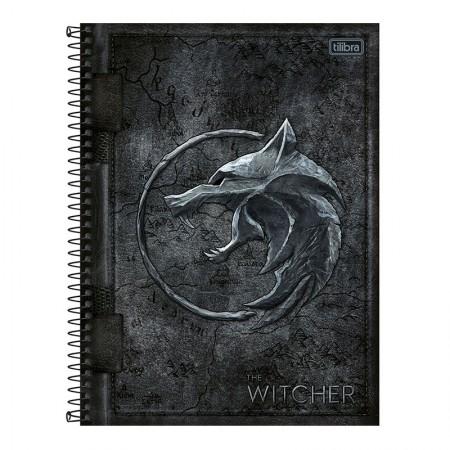 Caderno espiral capa dura universitário 1x1 - 80 folhas - The Witcher - Capa 3 - Tilibra