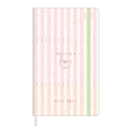 Caderneta capa dura 1/8 Fitto Soho - pontilhado - 80 folhas - Capa 4 - Tilibra