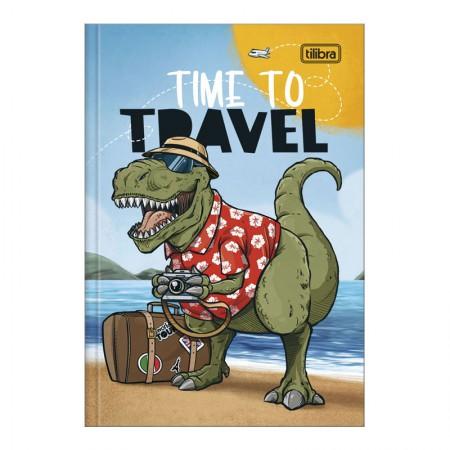 Caderno brochura capa dura 1/4 - 80 folhas - Raptor - Capa 1 - Tilibra