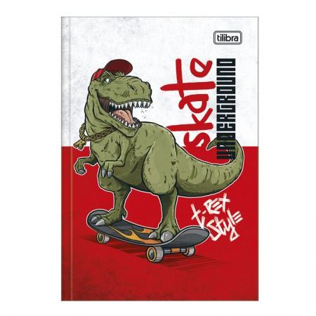 Caderno brochura capa dura 1/4 - 80 folhas - Raptor - Capa 2 - Tilibra