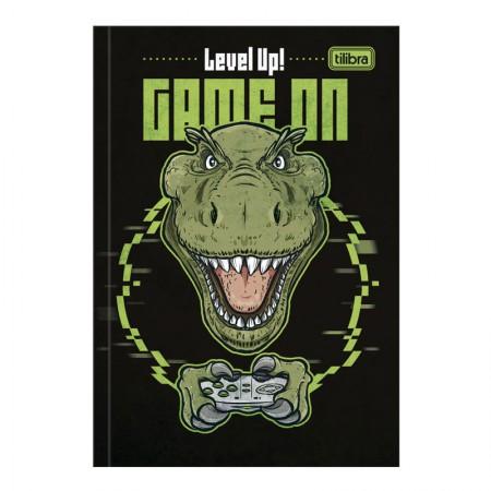 Caderno brochura capa dura 1/4 - 80 folhas - Raptor - Capa 3 - Tilibra