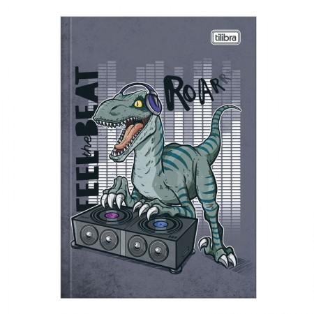Caderno brochura capa dura 1/4 - 80 folhas - Raptor - Capa 4 - Tilibra