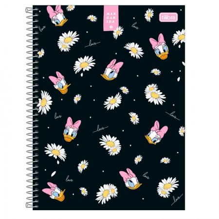 Caderno espiral capa dura universitário 1x1 - 80 folhas - Margarida - Capa 2 - Tilibra