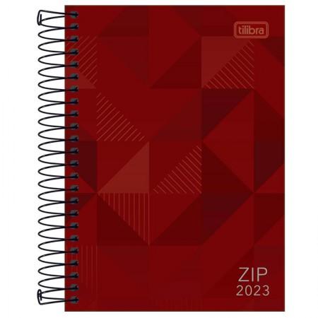 Agenda espiral diária Zip 2022 - Azul - Tilibra