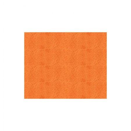 Papel camurça Laranja - 80 x 40cm - 25 folhas - Art Floc