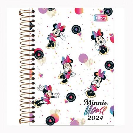 Agenda espiral diária Minnie 2021 - Capa 3 - Tilibra
