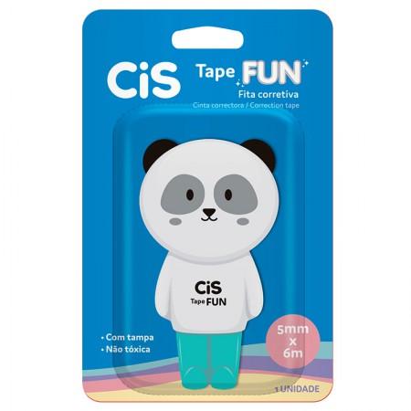 Corretivo em fita Tape Fun - 5mm x 6m - unidade - Panda - Cis