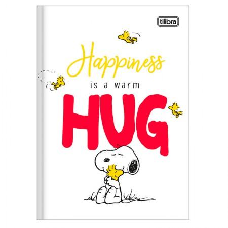 Caderno brochura capa dura 1/4 - 80 folhas - Snoopy - Capa 1 - Tilibra
