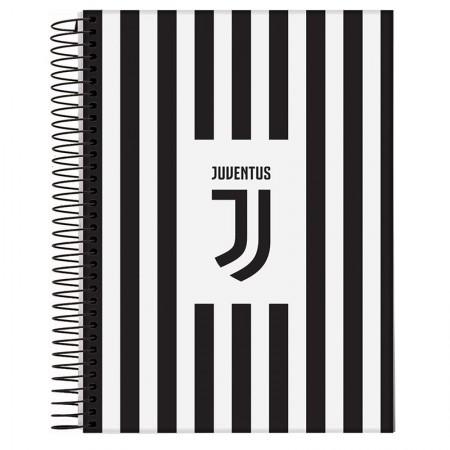 Caderno espiral capa dura universitário 1x1 - 96 folhas - Juventus - Capa 1 - Jandaia