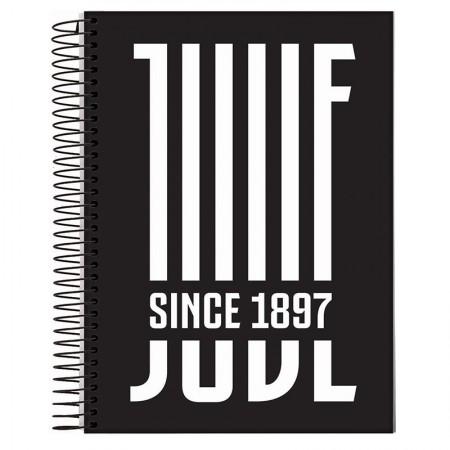 Caderno espiral capa dura universitário 1x1 - 96 folhas - Juventus - Capa 2 - Jandaia