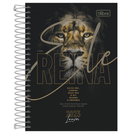 Agenda espiral diária Louvor 2021 - Capa 2 - Tilibra