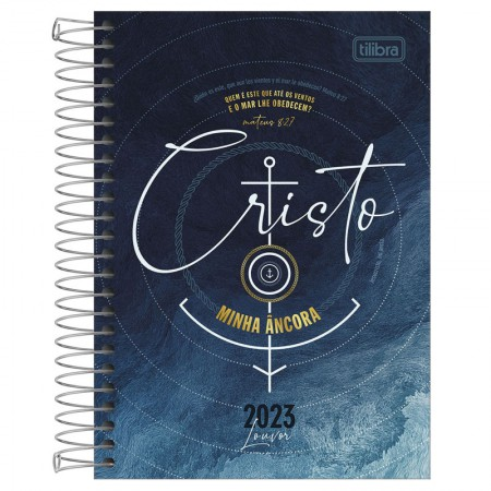 Agenda espiral diária Louvor 2022 - Capa 4 - Tilibra