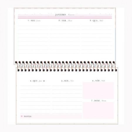 Agenda espiral semanal de bolso Soho 2021 - Capa 1 - Tilibra